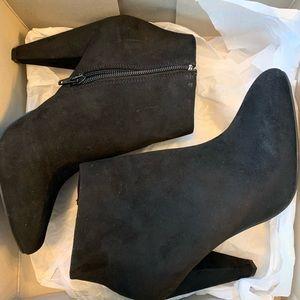 Apt.9 Black Booties. Never worn.